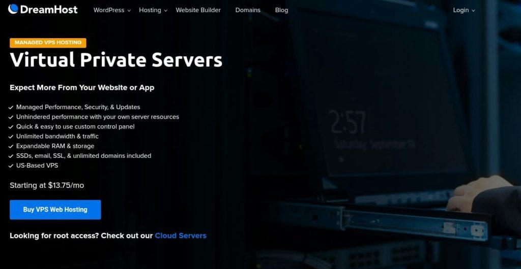 DreamHost Cheap Linux VPS Hosting