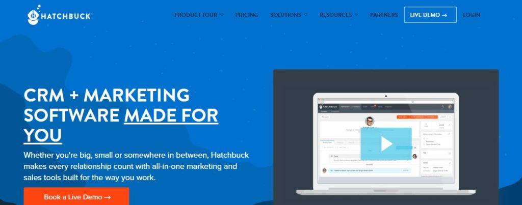 Hatchbuck marketing software