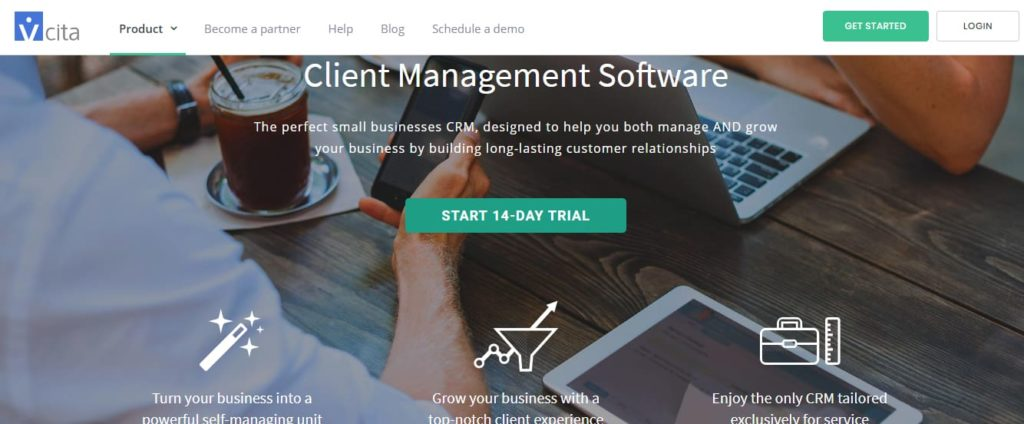 Vcita gestão de negócios
