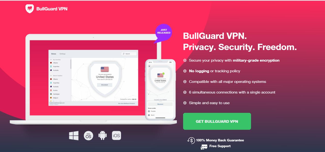 BullGuard VPN