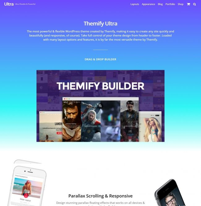 Template Ultra WordPress