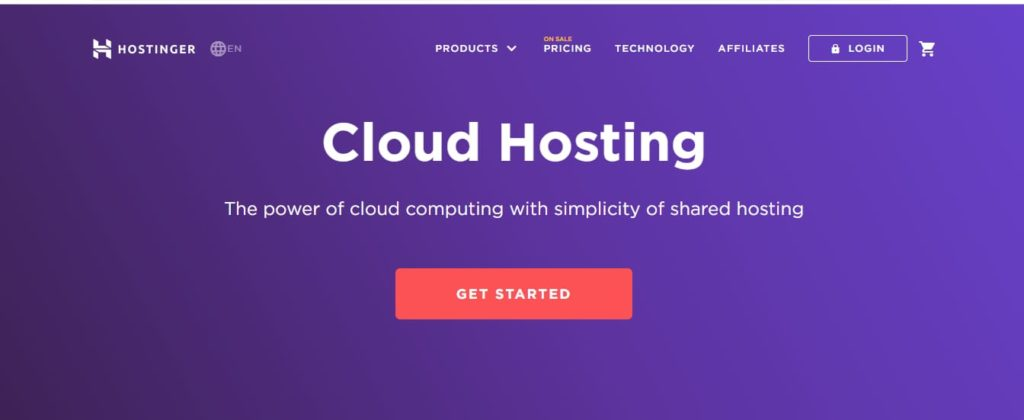 Hostinger Cloud Server