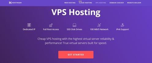 Hostinger Affordable VPS