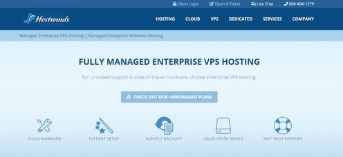 Hostwinds Windows & Linux VPS