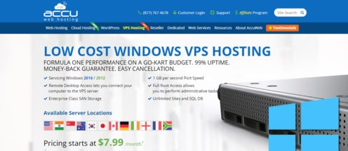 AccuWeb Hosting VPS